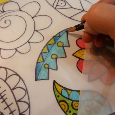 How to make Shrink art