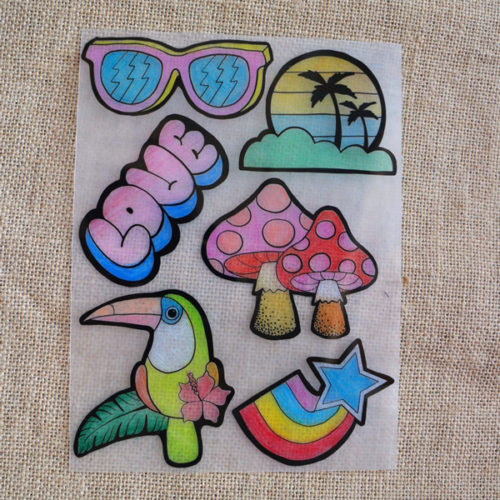 Shrinky Dinks Plastic